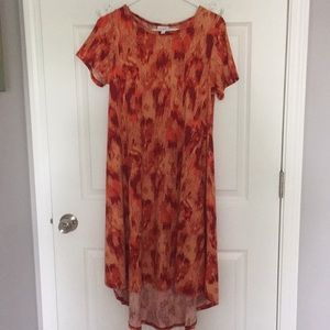 ❤️🧡NWOT Small Lularoe Carly Dress🧡❤️